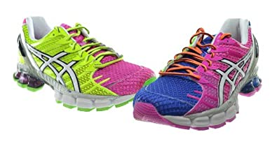 asics womens gel-kinsei 4 running shoe mosaic/white/mosaic