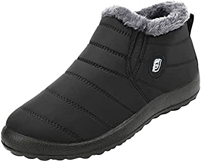 Amazon.com | FEETCITY Womens Snow Boots Winter Lightweight