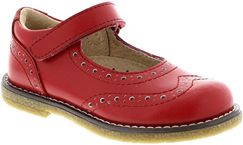 Lydia (1.0 Little Kid M/W, Apple Red) by FootMates