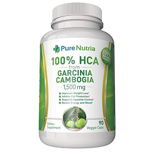Garcinia Cambogia 1500mg HCA from Garcinia Cambogia Extract. Extra Strength 100% HCA – Ultra Effective for Appetite…