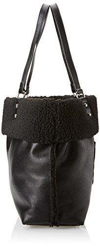 Cm Black sac Shopping Nero Gaudì Linea Black main Belle à 33x31x14 UZwH6x