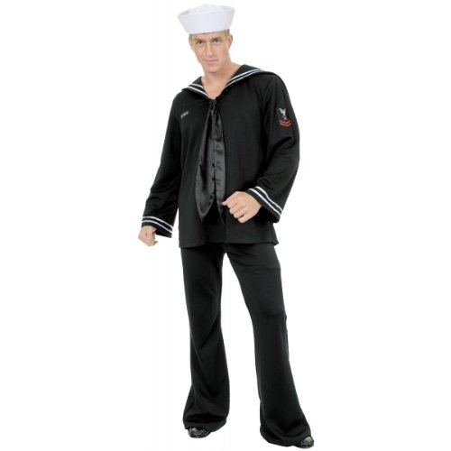 [South Seas Sailor Costume - Small - Chest Size 38] (South Sea Sailor Costume)