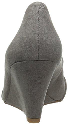 Jessica Zeh Gnocchi Keilabsatz Geschlossener Pumps Simpson Siennah Frauen Grey mit 8PqPrI