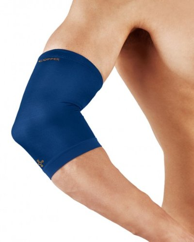 - Tommie Copper Elbow Sleeve, Cobalt Blue, Large