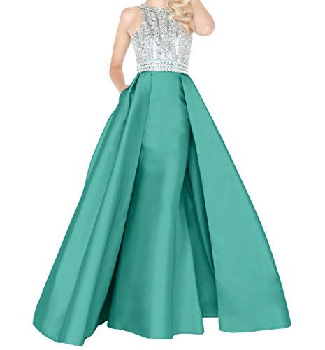 La Lang Braut mia Minze Gruen Satin Schnitt Hochwertig Neu Festlichkleider Promkleider Etuikleider Schmaler Abendkleider Partykleder rrgq8