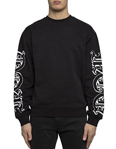 mcq-alexander-mcqueen-mens-348041rjr151000-black-cotton-sweatshirt