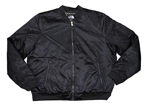 The North Face Barstol Neoprene Trimmed Womens Bomber Jacket (Black, X-Large)