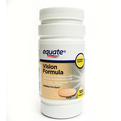 Приравниваем - Видение Формула с лютеином, глаз Здоровье Витамины и биодобавки, 120 таблеток