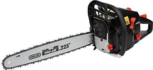 YATO Profi Benzin Kettensäge 2,7 PS Schwertlänge 50cm 49,3m³ Motorkettensäge Kettensäge