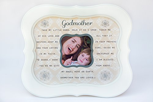 (The Grandparent Gift Godmother, Sentiment Photo Frame from Godchild)