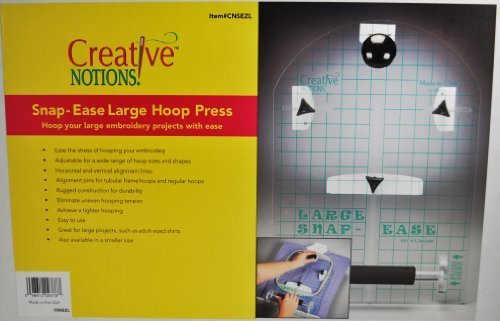 Sewing Snap Ease Large Hoop Press CNSEZL by Creative Notions