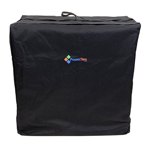 IncStores Trade Show Flooring Cases - Portable Foam Tile Case for Trade Show Floors & Event Flooring (Holds 25 Foam Tiles 5/8inx24inx24in)