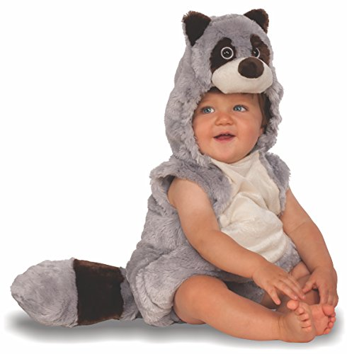 Rubie's Baby Raccoon Costume, As As Shown, Toddler -