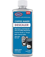 Urnex Descaler (2 Uses Per Bottle) - Universal Descaling Solution for Keurig, Nespresso, Delonghi and All Single Use Coffee and Espresso Machines - Made in the USA