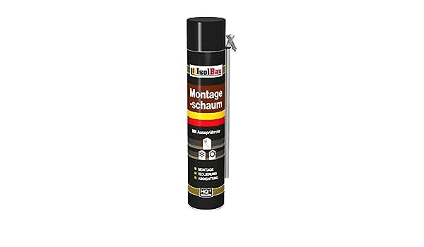 Espuma de montaje 1 lata 750 ml con aussprührohr 1 K Diseño Espuma de espuma de poliuretano adaptador Espuma: Amazon.es: Bricolaje y herramientas