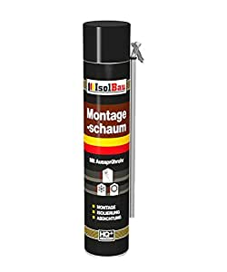 Espuma de montaje 1 lata 750 ml con aussprührohr 1 K Diseño ...