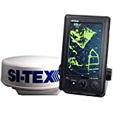 SI-TEX T-760 Compact Color Radar w/4kW 18'' Dome - 7'' Touchscreen (51406)