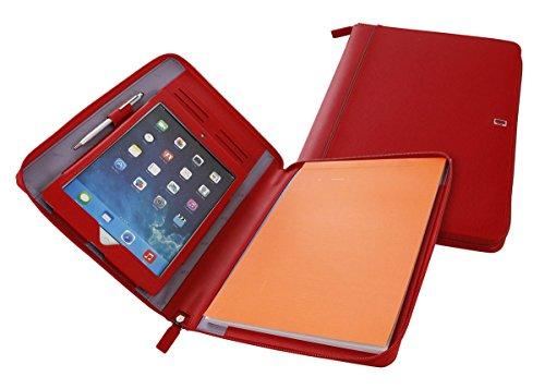 Nava Design Porta block Saffiano Icon Rojo Única