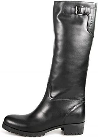 Prada Damen Leder Stiefel 3W5784