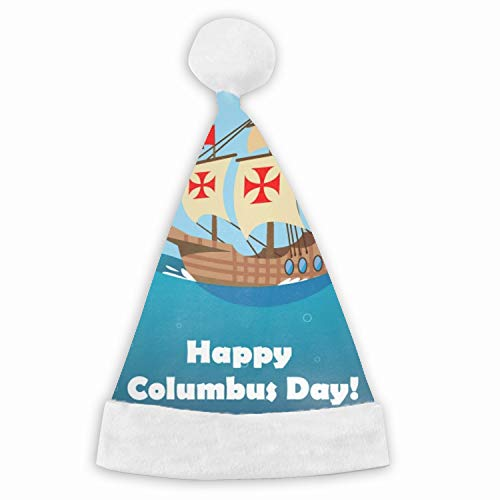 Christmas Columbus Day Santa Claus Hat Adult Kids Type Festival Party Decoration Gift Adult