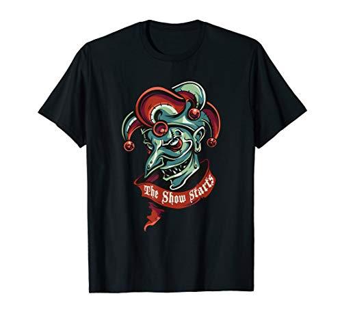 freak show clown t shirt ()
