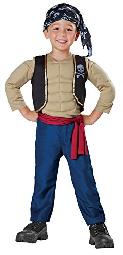 Muscle Pirate Role Play Costume