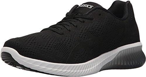 ASICS Women's Gel-Kenun MX Running Shoe, Black/Black/White, 8.5 M US ()