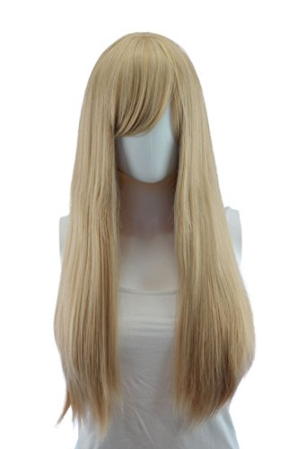 EpicCosplay Blonde Mix Long Straight Wig