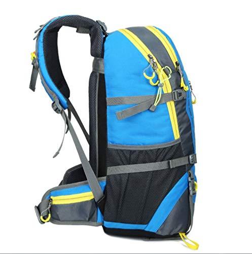 And Shoulder Backpack Women Blue Mountaineering Outdoor Men Bag Bag Fashion 45L ZHANGQIAN Sports Y8xvS8w