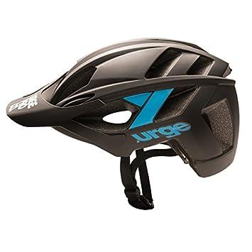 Urge ubp18501l Casco de Bicicleta de montaña Unisex, Negro/Azul, L/XL