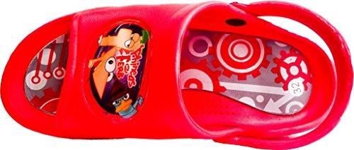 Disney Phineas und Ferb Sandalen (bitte die Größe per E-Mail mitteilen)