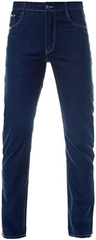 Męskie spodnie rozmiar powiększony dżinsy Stretch Big Straight Fit 21536: Odzież