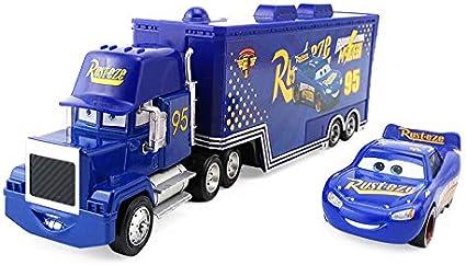 Amazon Com Pixar Cars Lightning Mcqueen The King Chick Hicks