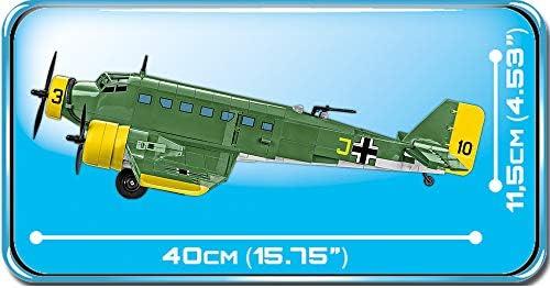 COBI 5710 Junkers JU 52/3M Toys, Grün Gelb