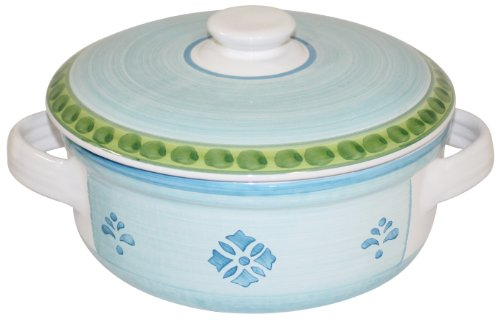 CALECA-311745-Night-Flower-Convered-Casserole-Dish