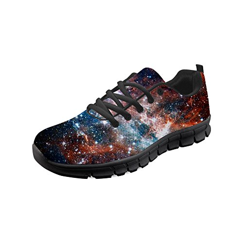 Personalized Running Mumeson Galaxy 5 Size 14 Galaxy Shoes Fashion Sneaker Women Print ca5185 5rrIqtw