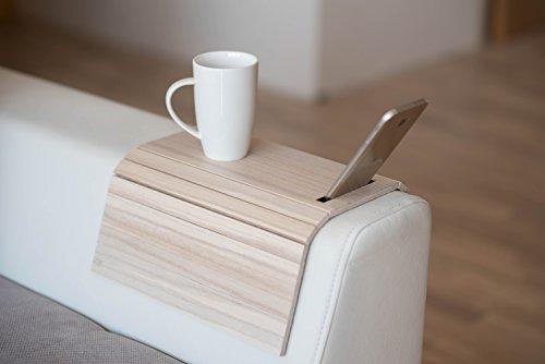 - Wood sofa arm tray protectors armrest table sofa table coaster sofa tray, tv tray (1.)
