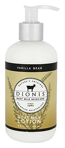 Dionis Goat Milk Skincare - Lotion, 8.5 oz., Vanilla (Skin Care Vanilla Bean)