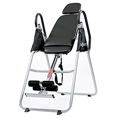 Invertio Premium Folding Inversion Table w/ Padded Backrest