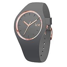 Ice-Watch - ICE glam colour Grey - Reloj grigio para Mujer con Correa de silicona - 015336 (Medium)