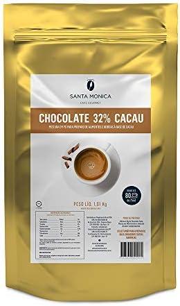 Achocolatado Santa Monica 32% Cacau 1kg por Café Santa Monica