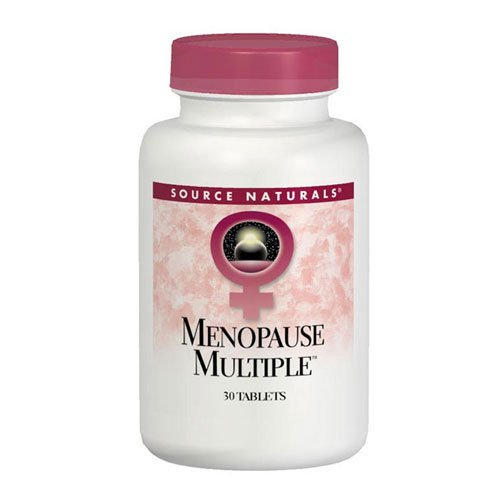 UPC 021078006329, Source Naturals Menopause Multiple, Multi-System Support for Menopause,60 Tablets