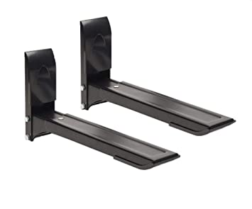 Amazon.com: TechSol Negro Soporte de pared con brazos ...