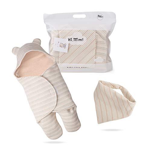 Newborn Baby Boys Girls Cute Receiving Blanket, Baby Kids Wrap Swaddle Blanket Sleeping Bag Sleep Sack Unisex Stroller Wrap for Baby