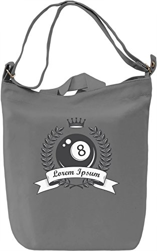 Billiard ball Borsa Giornaliera Canvas Canvas Day Bag| 100% Premium Cotton Canvas| DTG Printing|