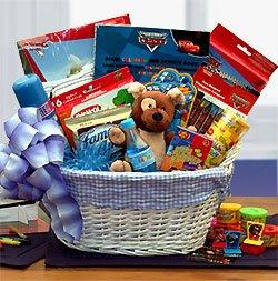 Kids Gift Basket: Disney Fun & Games Gift Basket