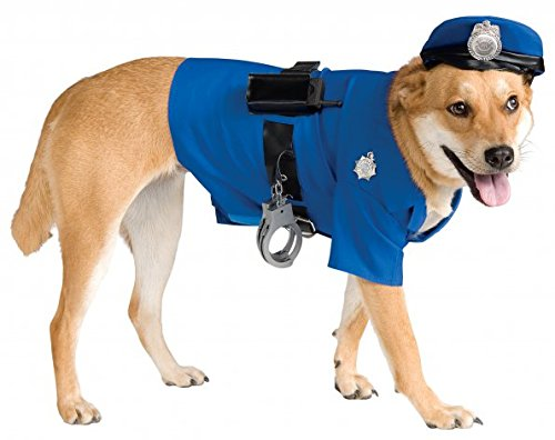 Cop Dog Costume (Rubie's Big Dog Police Dog Costume)