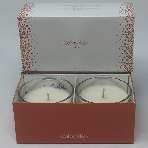 Calvin Klein Chai Candle Duo - 3.47 oz. x 2 Calvin Klein Candle