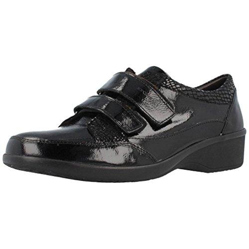 Zapatos de cordones para mujer, color Negro , marca STONEFLY, modelo Zapatos De Cordones Para Mujer STONEFLY PASEO II 76 Negro Negro