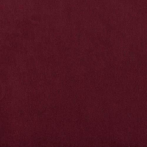 Solid Velvet Upholstery - Plastex Fabrics Alpine Upholstery Velvet Burgundy,